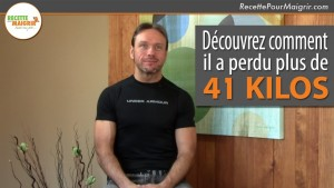 Recette pour maigrir – L'impressionnante perte de poids de Marc Desgagnés