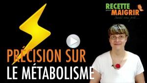 Recette pour maigrir – Santé Vous Prêt: Précision sur le métabolisme