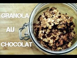 Ep 163 – Granola au Chocolat – Recette simple et rapide [Rééquilibrage Alimentaire – Régime]