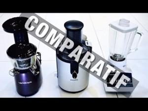 Ep 162 – Comparatif Extracteur de Jus, Centrifugeuse, Mixeur – Que choisir ? (Versapers – Philips)