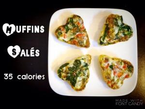 Ep 166 – Muffins salés Recette simple [Rééquilibrage Alimentaire – Régime]