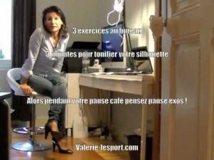 Valerie LeSport au bureau