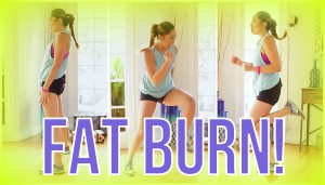 8 min At Home Cardio Workout! Swimsuit Slimdown Series