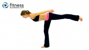 At Home Total Body Barre Workout – Barre Workout Video – Low Impact Workout