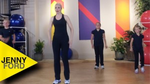 KIDS Marching WORKOUT 2 of 2 FITNESS EXERCISE – JENNY FORD