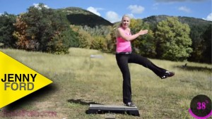 Step Aerobics and Weights in Aspen — JENNY FORD