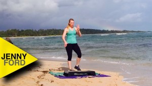 Step Aerobics in Hawaii – JENNY FORD