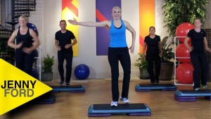 STEP AEROBICS – Step by Step 3 – Intermediate – JENNY FORD