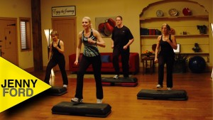 STEP AEROBICS – STEP by STEP – JENNY FORD