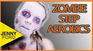 Zombie Step Aerobics Workout– JENNY FORD
