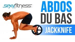 Abdos Couteau Suisse avec Roue: ABDOS DU BAS  | Exercices ABDOS SCULPTÉS