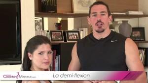 Demi flexion – Coaching Forme par Tristan Arfi