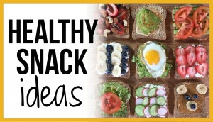 Healthy Snack Ideas: Avocado Toast! Teddy Bear Toast!