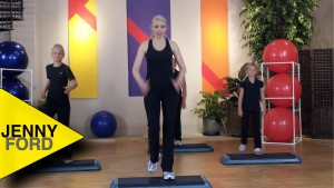 KIDS Step WORKOUT 1 of 2 FITNESS EXERCISE – JENNY FORD