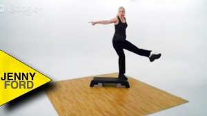 Step Aerobics – One Quick Combo – JENNY FORD