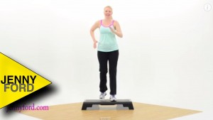 Beginner Step Aerobics Fitness Cardio — JENNY FORD