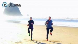 Cannon Beach HIIT Cardio Workout – Fast High Intensity Interval Training Cardio Routine