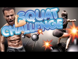 JAMBES & FESSES Toniques #ChallengeSquatBT 30 JOURS by Bodytime