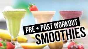 Pre + Post Workout Smoothies!