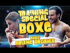 TRAINING COMBAT spécial BOXE THAÏ avec Ariane