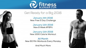 FB January 2016 Surprises: New 5 Day Challenge, New 8 Week FBfit, New 1000 Calorie Workout & More