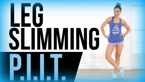 Leg Slimming Workout // PIIT